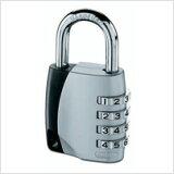 安博(阿巴斯鸟类)组合锁锁挂锁制造可变数目155-40[ABUS(アブス・アバス)製 南京錠Combination Padlock ナンバー可変式南京錠 155-40]