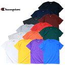 ビッグtシャツ Champion チャンピオン Tシャツ a-t525c 6oz. SHORT SLEEVE T-SHIRT / 6オンス ショート スリーブ Tシャツ -全13色-コットン ロゴ シンプル 半袖 大きいサイズ ビック tee 6oz a-t525c