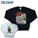 『GILDAN/ギルダン』tlrf001 CREW NECK SWEAT SHIRT / クルーネックスウェットシャツ -全2種-ネズミ/R.T/[tlrf001]