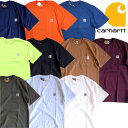 『CARHARTT/カーハート』crhtt87 POCKET TEE SHIRTS -Original Fit- / ポケット半袖Teeシャツ -全10色-「アメリカ」「1889」「ポケTee」「ブラウンダック」「アメカジ」「ワーク」「ダック」「S/S」「ワッペン」 CRHTT87