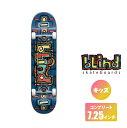 BLIND スケートボード キッズデッキ コンプリート セット 7.25インチ【 OG Design First Push Complete Skateboard 】 スケボー ブラインド DECK