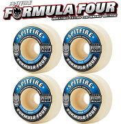 送料無料 SPITFIRE スケートボード ウィール 【 FORMULA FOUR Classicシェイプ 99DURO 】 スケボー スピットファイヤー WHEELS