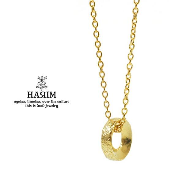 HARIM ハリム HRP109 GP Still Hard 【O】GPGOLD ゴールド チェーン ペンダント ネックレス HARIM ハリム Necklace ネックレス 送料無料 き手数料無料