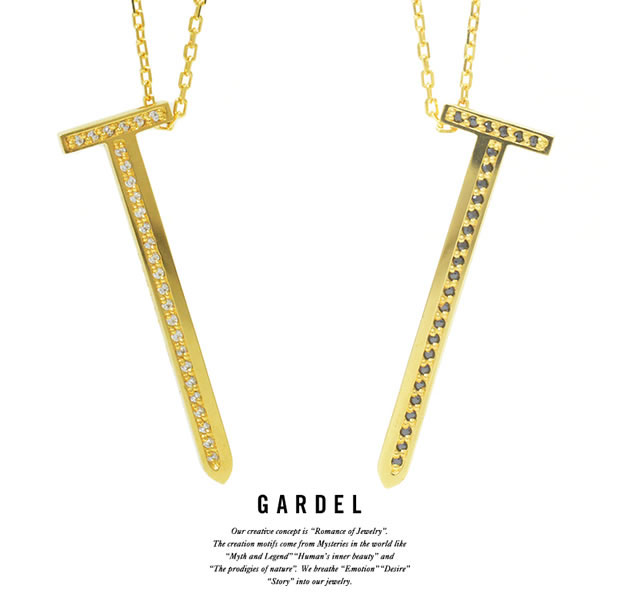 GARDEL ガーデル GDP-131 K18YG TO,ME,Collection Clou Necklace L ネジ ネックレス 18金 ゴールド ガーデル GARDEL Necklace 送料無料 手数料無料よい
