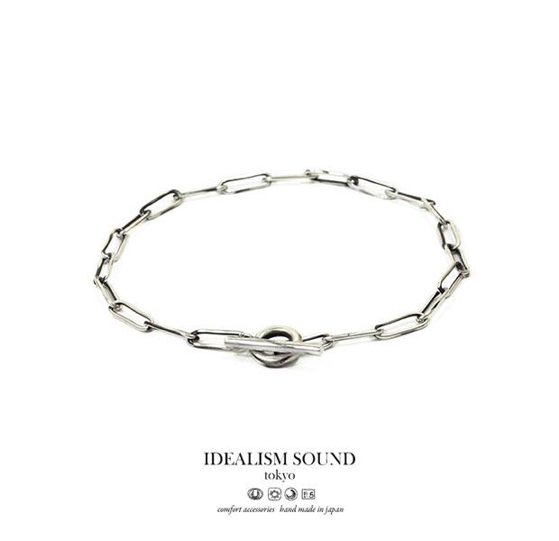【idealism sound】 イデアリズムサウンド idealismsound No.15091 Silver Chain Ankletシルバー チェーン アンクレット メンズ レディース idealism sound イデアリズムサウンド アンクレット 送料無料【あつい】