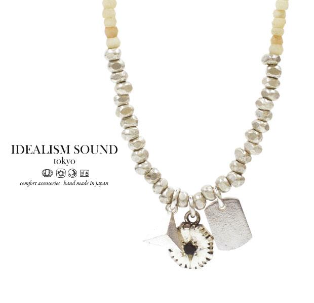 【idealism sound】 イデアリズムサウンド idealismsound No.14022 Silver Necklaceシルバー ネックレス メンズ レディース idealism sound ネックレス 送料無料 手数料無料
