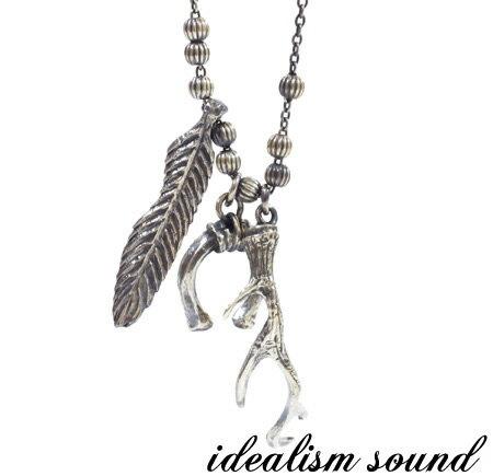 【idealism sound】 イデアリズムサウンド idealismsound No.13078 Silver Necklaceシルバー ネックレス メンズ レディース idealism sound ネックレス 送料無料 手数料無料