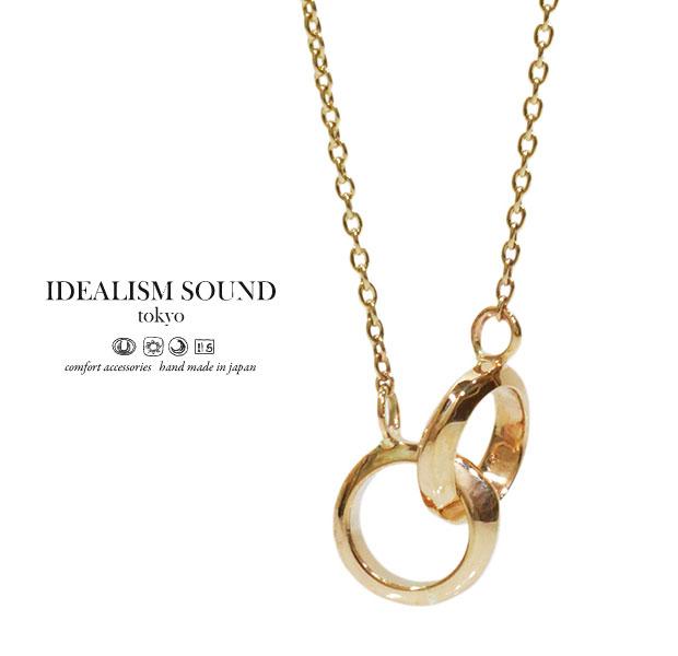 【idealism sound】 イデアリズムサウンド idealismsound No.11003 K10 Gold Necklace10金 ゴールド リング ネックレス メンズ レディース idealism sound ネックレス 送料無料 手数料無料【?厚い】