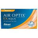 エアオプティクスEXアクア (3枚)1箱 【定形外郵便送料無料】(エアオプティクス EXアクア アルコン 1ヶ月)--
