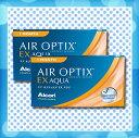 .エアオプティクスEXアクア2箱セット(両眼3か月分)/1ヶ月使い捨てコンタクトレンズ