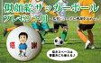 似顔絵サッカーボール(5号) プレゼント用楽ギフ_名入れP25Jan15