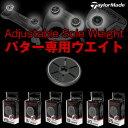 テーラーメイド日本正規品Adjustable Sole Weightアジャスタブルソールウエイト(可変式ウェイト)パター専用ウエイト(1個)【あす楽対応】