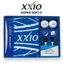 2017モデルダンロップ日本正規品XXIO(ゼクシオ)SUPER SOFT X(スーパーソフトエックス)ボールギフトGGF−F2076