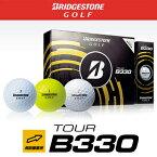 2014モデルブリヂストンゴルフ日本正規品TOUR B330ゴルフボール1ダース(12個入)【あす楽対応】