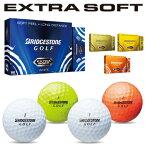 2015モデルブリヂストンゴルフ日本正規品EXTRA SOFT(エクストラ ソフト)ゴルフボール1ダース(12個入)【あす楽対応】