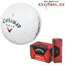 2009新製品キャロウェイ日本正規品ビッグバーサDIABLO(ディアブロ)ゴルフボール「1ダース(12個入)」