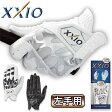 ショッピングゼクシオ 2015モデルダンロップ日本正規品XXIO(ゼクシオ)左手用ゴルフグローブGGG−X008【あす楽対応】