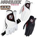 フットジョイ日本正規品NANOLOCK TECH(ナノロックテック)ゴルフグローブ(左手用)