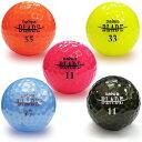 【即納】Daiwa(ダイワ)BLADE(ブレード)ブライトカラーゴルフボール1ダース(12個入)