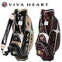 2015限定モデルVIVA HEART(ビバハート)メンズキャディバッグ「VHC015」【あす楽対応】