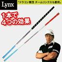 Lynxリンクスゴルフスイング練習器ティーチングプロアシンメトリースティック【あす楽対応_四国】