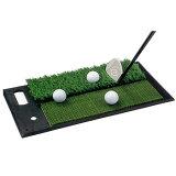 ダイヤコーポレーション2WAY実戦練習マット(アプローチ用)TR−408「ゴルフ練習用品」【あす楽対応四国】
