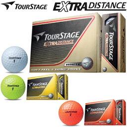 ブリヂストン日本正規品ツアーステージEXTRA DISTANCEエクストラディスタンス<strong>ゴルフボール</strong>1ダース(12個入)【あす楽対応】