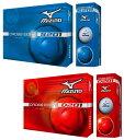 【キャビティクロスコア構造】 MIZUNO(ミズノ)日本正規品クロスエイト201シリーズゴルフボール1ダース(12個入)