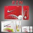 ショッピングPIECE ナイキゴルフ日本正規品RZN(レジン)スピードロックコア3ピース構造ゴルフボール1ダース(12個入)【あす楽対応】