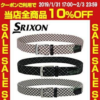 ダンロップ日本正規品 SRIXON(スリクソン) メンズゴルフベルト 2018モデル 「GGL-S016」【あす楽対応】