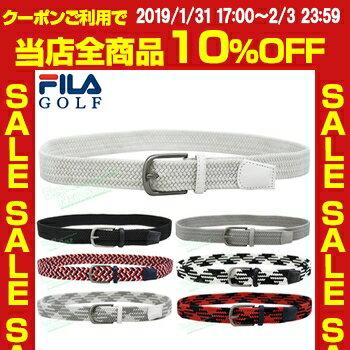 FILA GOLF(フィラゴルフ)日本正規品 ゴルフストレッチメッシュベルト 「748-951」【あす楽対応】