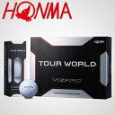 HONMA GOLF(本間ゴルフ)TOUR WORLD VIZARDゴルフボール1ダース(12個入)「BTQ-3301」【あす楽対応】