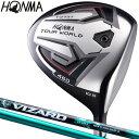 HONMA GOLF(本間ゴルフ)日本正規品 TOUR WORLD(ツアーワールド) TW737 460ドライバー VIZARD EX-A55カーボンシャフト