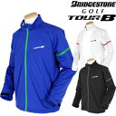 【限定品】BridgestoneGolf ブリヂストンゴルフ 秋冬ウエア TOUR B(ツアービー) 前開