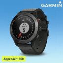 2017モデルガーミン(GARMIN)日本正規品高性能GPS距離測定器腕時計型GPSゴルフナビAPPROACH(アプローチ) S60プレミアムモデル「010-01702」