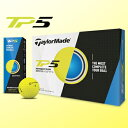Taylormade(テーラーメイド)日本正規品TP5 YELLOWゴルフボール1ダース(12個入)【あす楽対応】