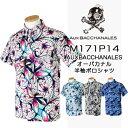 AUX BACCHANALES オーバカナル 春夏ウエア 半袖ポロシャツ M171P14