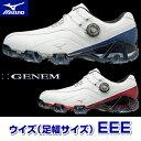 MIZUNO(ミズノ)日本正規品 GENEM 008 Boa ジェネム008ボアソフトスパイクゴルフ...