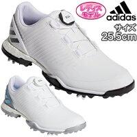 adidas Golf(アディダスゴルフ) 日本正規品 W ADIPOWER 4ORGED BOA (ウィメンズアディパワーフォージドボア) ソフトスパイクゴルフシューズ 2019モデル 「BTF17」 サイズ:25.5cm レディスモデル【あす楽対応】の画像