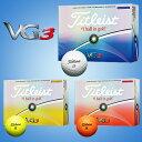 2016モデルタイトリスト日本正規品VG3ゴルフボール1ダース(12個)