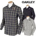 OAKLEY(オークリー)SLIM+吸汗速乾+ストレッチ+Smooth&DrySKULL SHREWD L/S SHIRT長袖シャツ401675JP「秋冬ゴルフウエア」【あす楽対応】