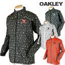 OAKLEY(オークリー)撥水+防風+通気+蓄熱ウインドジャケット412086JP「秋冬ゴルフウエアw6」【あす楽対応】