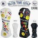 ブルーティーゴルフスマイル&ピンボールカリフォルニア ヘッドカバードライバー用「BLUE TEE G...