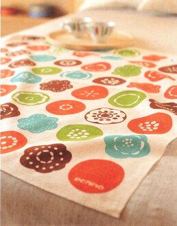 Furoshiki wrapping cloth echino ( エチノ ) 綿中 sunny place (hidamari) orange (75 cm) made in Japan 10P04Aug13