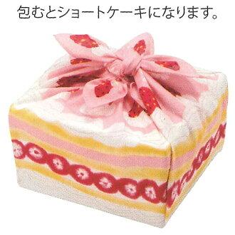 fs3gm made in furoshiki Misato Asayama shortcake cotton furoshiki (50cm) Japan