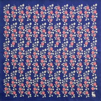 Furoshiki yumeji Strawberry (dark blue) cotton Yuzen Furoshiki (70 cm) made in Japan 10P04Aug13