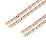 【R】扬声器电缆赤白【OFC】5m2个一套C-077[【W】スピーカーケーブル 赤白【OFC】5m×2本セット C077]