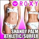 ROXY ロキシー 水着 【SHANDY PALM ATHLETIC TOP/SURFER】女性用水着の上下セット販売