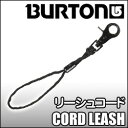 リーシュコード Burton[バートン]【CORD LEASH:BLACK】