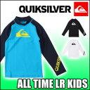 QUIKSILVER[クイックシルバー]【ALL TIME LR KIDS】キッズ 子供用の長袖ラッ...